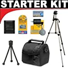 Deluxe DB ROTH Accessory STARTER KIT For The Aiptek Action-HD GVS, GO-HD High Definition Camcorders