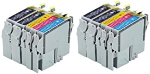 Generic Compatible Ink Cartridge Replacement for Epson T044 (4xBlack, 2xCyan, 2xMagenta, 2xYellow, 10-Pack)