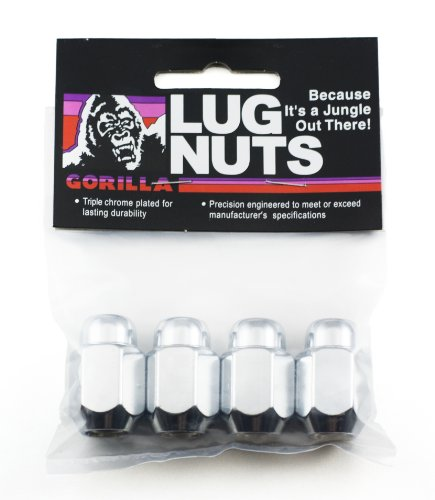 Gorilla Automotive 71137B Acorn Lug Nuts (12mm x 1.50 Thread Size) (Toyota Echo Lug Nuts compare prices)