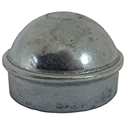 ALEKO® Gate Part #18 1 Round Post Cap 2-7/8 Inches Post Cap For Chain Link Post