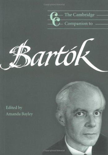 The Cambridge Companion to Bartók (Cambridge Companions...
