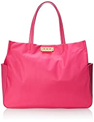 ZAC Zac Posen Eartha Everyday Large Shopper Shoulder Bag, Pink, One Size
