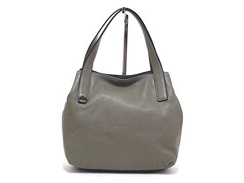 Coccinelle borsa donna a spalla, Mila XY0-110201, pelle grigio A6102