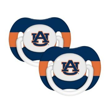 NCAA Auburn Tigers 2 Pack Pacifier at Amazon.com