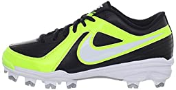 Nike Unify Strike MCS Womens Softball Cleats (11 B(M) US, Black/Neon Yellow)
