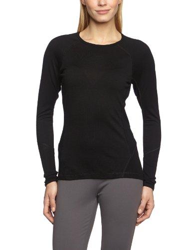 Smartwool-Damen-Unterhemd-Shirt-Langarm-Womens-NTS-Light-195-Crew-Black-L-BSL231