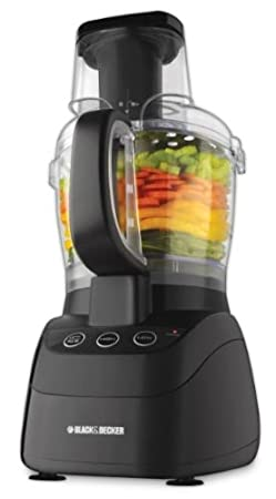 Black & Decker FP2500B PowerPro Wide-Mouth 10-Cup Food Processor