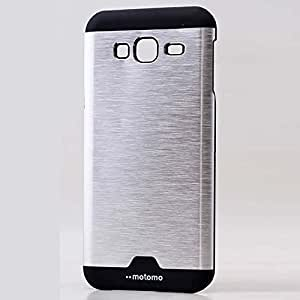 Light weight back cover for Samsung Galaxy E5 color Silver