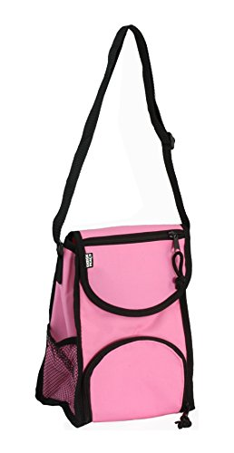 Insulated Lunch Sack, Pink