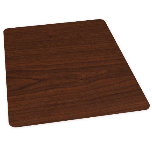 ES Robbins Wood Veneer Style Rectangle Chair Mat for Hard Floors, 36 by 48-Inch, Mahogany (Es Robbins Hard Floor Chair Mat compare prices)