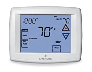White-Rodgers 1F95-1277 Touchscreen Thermostat Programmable Household Thermostats