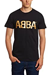 Bravado Men's Abba Gold Logo T-Shirt