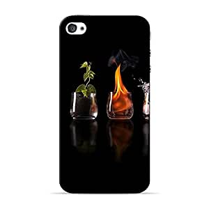 Mobile Back Cover For Apple iPhone 4s (Printed Designer Case)
