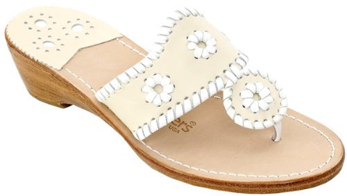 fd255f5e739d7 Jack Rogers Navajo Mid Wedge Women s Bone Beige Thong Sandals Sale Jack  Rogers Navajo Mid Wedge.Comfort and style walk foot in foot in these time  tested ...