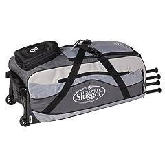 Louisville Slugger Series 9 Ton Team Wheeled Bag  by Louisville Slugger