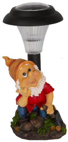 Solar Powered Garden Gnome ('The Gardener')