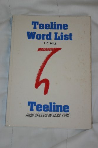 Teeline: Word List