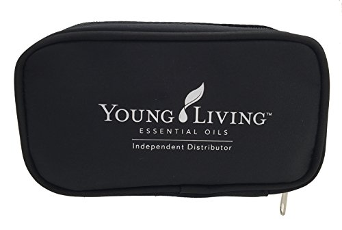 Essential Oil Carrying Case (Black, Holds Ten 15ml, 10ml, or 5ml* Bottles) Young Living