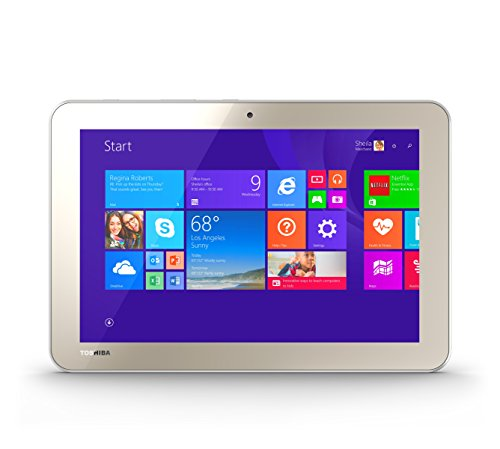 Toshiba Encore 2 WT10-A32 10.0-Inch 32 GB Tablet, Gold (Window Tablets compare prices)