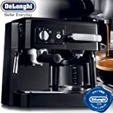 デロンギ コンビコーヒーメーカー ブラックDeLonghi BCO-4...