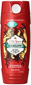 Old Spice Wild Collection Bearglove Mens Body Wash 16 Fluid Ounce
