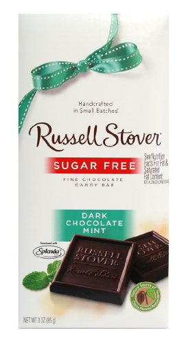 Russell Stover Sugar Free Dark Chocolate Mint
