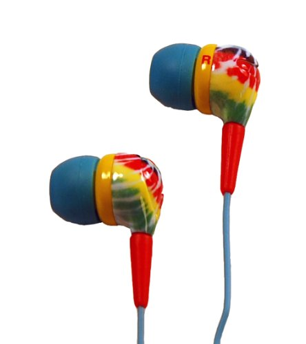 Audiology Au-160-St In-Ear Stereo Earphones For Mp3 Players, Ipods And Iphones (Multicolored)