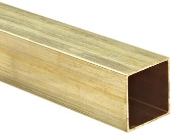 Brass C260 Hollow Rectangular Bar