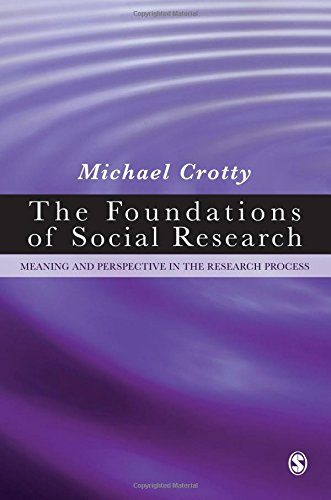 The Foundations of Social Research: Meaning and...