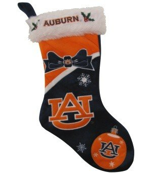 "Auburn Tigers NCAA 2010 Christmas Stocking 17"" at Amazon.com"