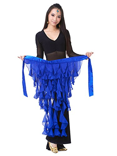 Molly Belly Dance Hips Scarf Costume Sexy Girl Tassel Belt Skirt