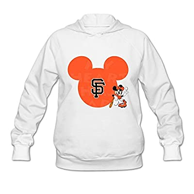 San Francisco Giants Hoodies For Womens O-Neck White]
