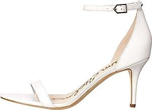 Sam Edelman Women's Patti Dress Sandal, White, 9 M US