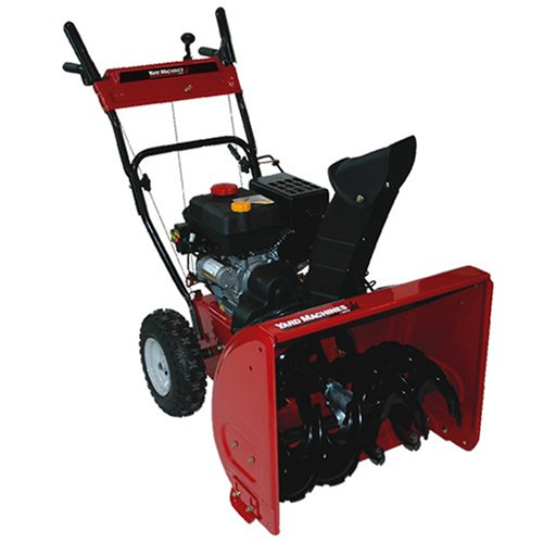 Yard Machines 31AS62EE700 24-Inch 179cc OHV 4-Cycle Gas Powered Two Stage Snow Thrower With Electric Start