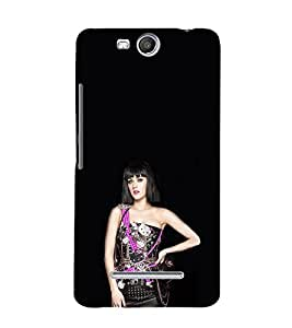 EPICCASE Katy perry hot Mobile Back Case Cover For Micromax Canvas Juice 3 Q392 (Designer Case)