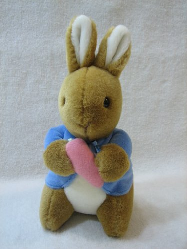 "Peter Rabbit Plush by Eden - 7 1/2"" - 1"