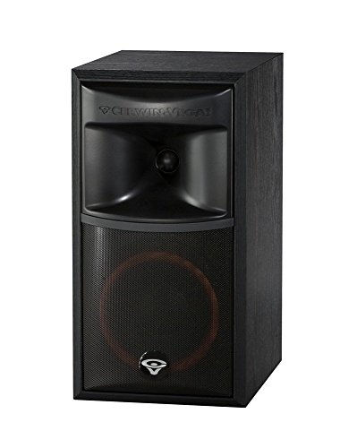 Cerwin-Vega Xls-6 2-Way Home Audio Bookshelf Speaker (Each, Black)
