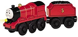 Thomas And Friends Wooden Railway - Battery Powered James