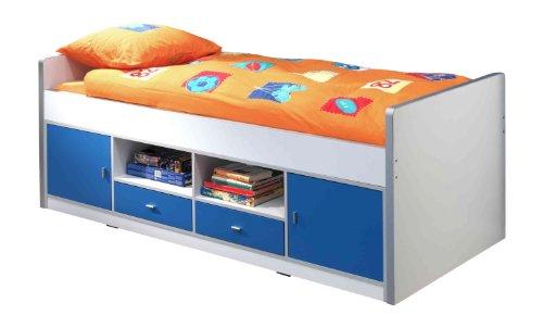 Vipack BOKB9007 Bonny Lit Capitaine Bleu 206 x 80 x 96 cm