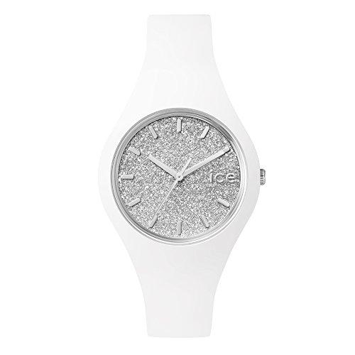 アイスウォッチ 腕時計 icewatch 正規品 アイスグリッター ICE-GLITTER (ホワイトシルバー(スモール))