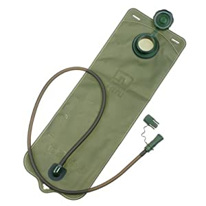 TOMTOP 3L Bicycle Mouth Water Bladder Bag Hydration Camping Hiking Climbing Military Green