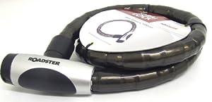SPIRAL BIKE/BICYCLE LOCK 22MM X 1000MM - 2 KEYS