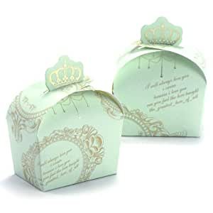 Wedding Gift Boxes Amazon : Amazon.com - 50pcs Royal Crown Wedding Favor Gift Boxes, Wedding Favor ...