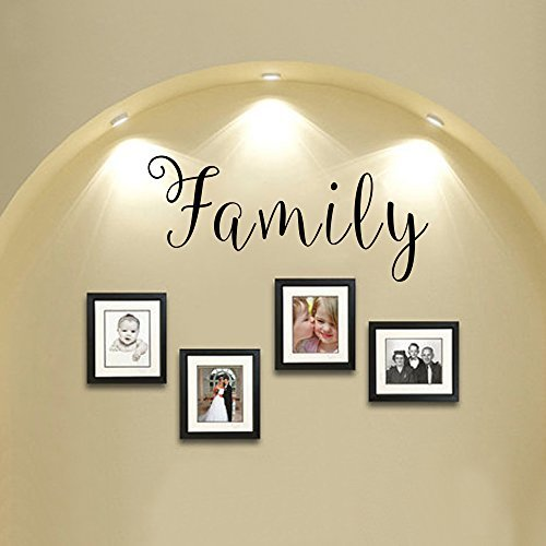 [Wall Decal Decor Family Sticker Vinyl Wall Art Decal Home Decor(white,m)] (Animals That Start With The Letter M)