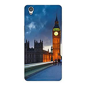 Cute London City Multicolor Back Case Cover for OnePlus X