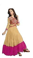 Parinaaz Chiku soft net fabric Unsticht Dressmaterial