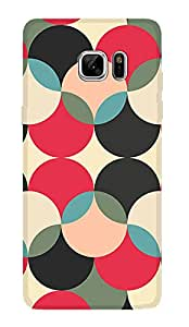 ZAPCASE PRINTED BACK COVER FOR SAMSUNG GALAXY NOTE 7 Multicolor
