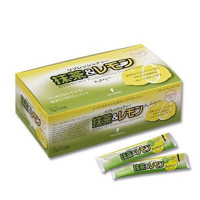 ハリウッド 抹茶&レモン 7g×72包