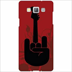Samsung Galaxy A5 Back Cover - Silicon Guitar Love Designer Cases