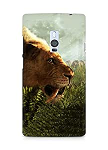 Amez designer printed 3d premium high quality back case cover for OnePlus Two (Far cry primal)